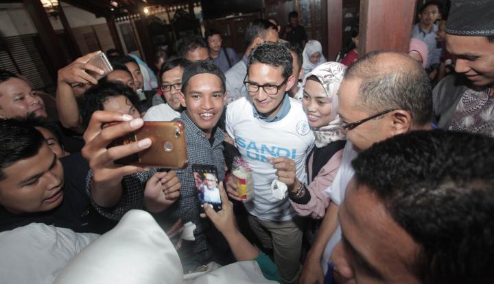Foto Berita Anak Gusdur Minta Sandi Jangan Pakai Isu SARA, Kalau Tidak....