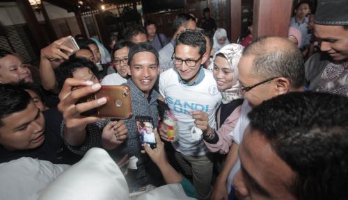 Foto Sandiaga Uno Lakukan Kunjungan Persahabatan ke KBB