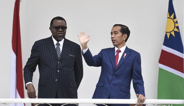 Foto Berita BUMN Ini yang Didorong Jokowi Garap Proyek Infrastruktur di Afrika