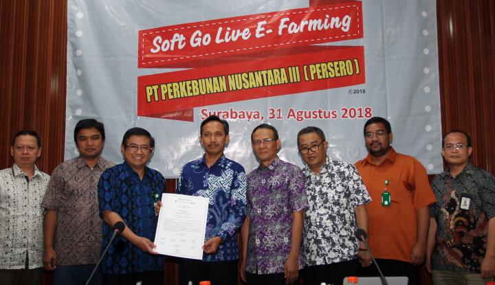 Holding PTPN III Luncurkan Aplikasi E-Farming - Warta Ekonomi