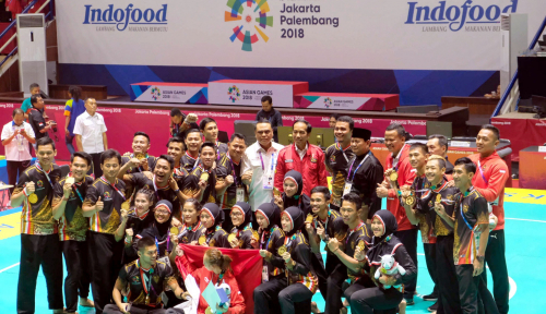 Foto Para Jagoan Asian Games Tuan Rumah Dapat Bonus Utuh