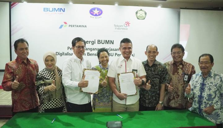 Foto Berita Gandeng Telkom, Pertamina Bakal Terapkan Teknologi Digital di SPBU Seluruh Indonesia