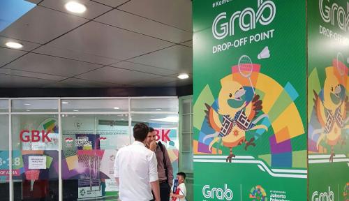 Foto Penutupan Asian Games, GrabNow Hadir di FX Sudirman
