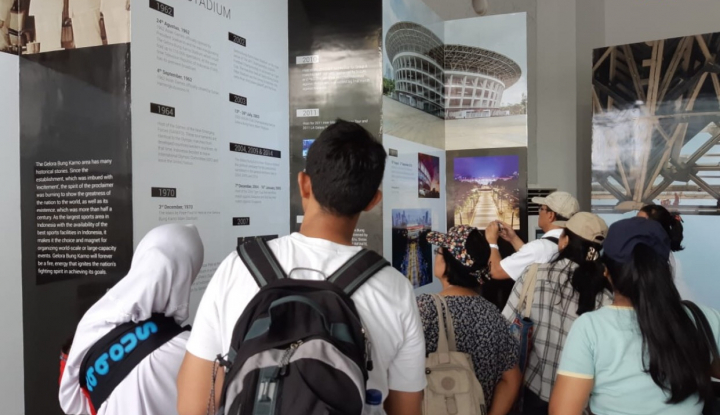 Foto Berita Pameran Pembangunan dan Renovasi GBK Berakhir Besok