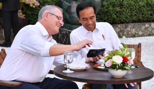 Foto PM Morrison Ingin Pindahkan Kedubes ke Yerusalem, Hubungan Indonesia-Australia di Ujung Tanduk?