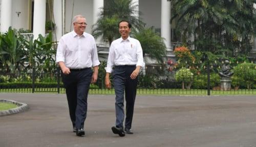Foto Tiga Perdana Menteri Negara Dunia Ucapkan Selamat ke Jokowi