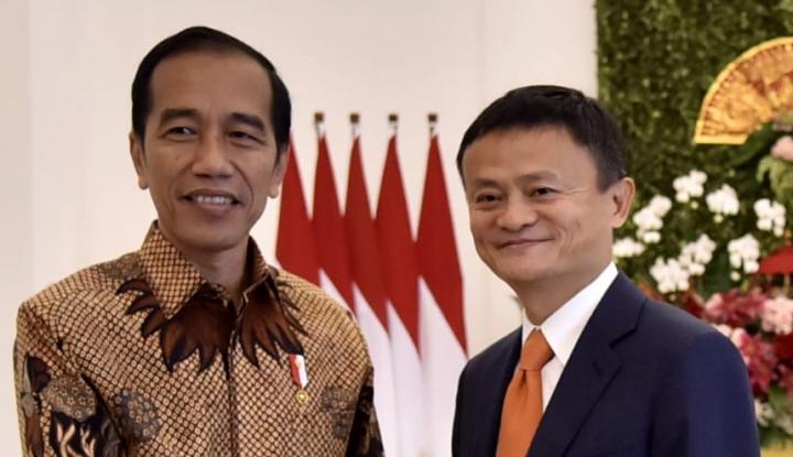 Foto Berita Tampil di Penutupan Asian Games, Jack Ma Kenalkan Kota Kelahirannya