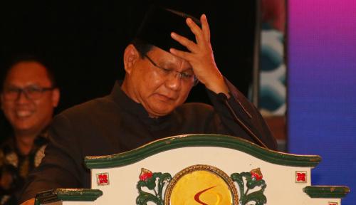 Foto Prabowo: Kita Bangsa Terhormat, Kenapa Kita Utang Terus, Impor Terus?