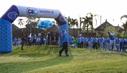 Foto Pererat Hubungan dengan Mitra Bisnis, Nasionalre Gelar Turnamen GolfPlus+ 2018