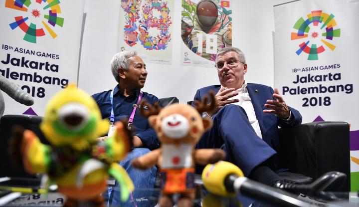 Foto Berita Presiden Komite Olimpiade Sebut Indonesia Pantas Jadi Tuan Rumah Olimpiade