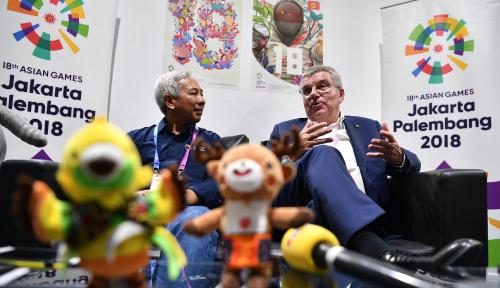 Foto Presiden Komite Olimpiade Sebut Indonesia Pantas Jadi Tuan Rumah Olimpiade