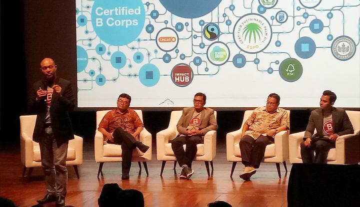 Foto Berita B Corp Ajak Pelaku Bisnis Indonesia Berikan Dampak Sosial, Ekonomi, dan Lingkungan