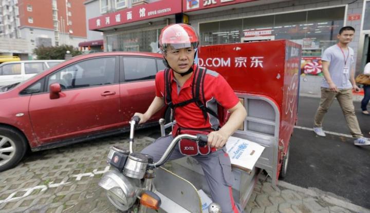 Foto Berita Bos JD.com Dibebaskan Polisi AS Setelah Sempat Ditahan