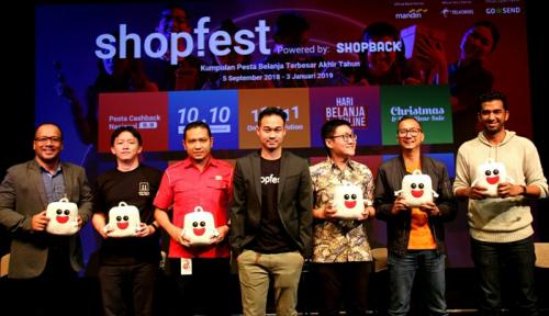 Foto Shopback Targetkan Rp1,5 Triliun dari Festival Shopfest