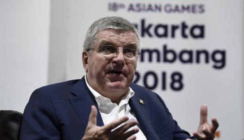 Foto Ini Kata Presiden IOC Soal Indonesia Gelar Olimpiade 2032