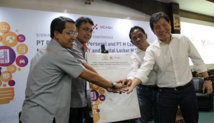 Foto Berita Pos Indonesia-MCAS Perkuat Jaringan Infrastruktur Logistik