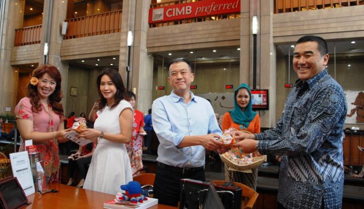 Foto Berita Harpelnas 2018, CIMB Niaga Apresiasi Nasabah dengan Promo-Hadiah