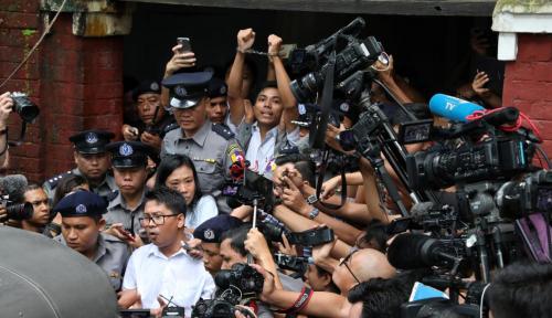 Foto AS Angkat Bicara Soal Penahanan Jurnalis Reuters