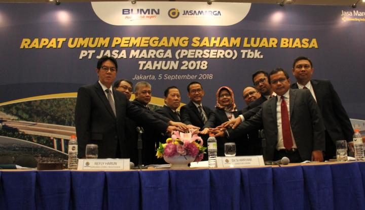 Foto Berita Usai Adakan RUPS, Jasa Marga Miliki Komisaris Utama dan Direktur SDM Baru
