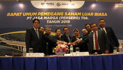 Foto Usai Adakan RUPS, Jasa Marga Miliki Komisaris Utama dan Direktur SDM Baru