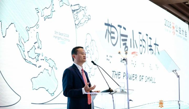 Foto Berita Jack Ma Pensiun dari Alibaba pada 10 September 2019