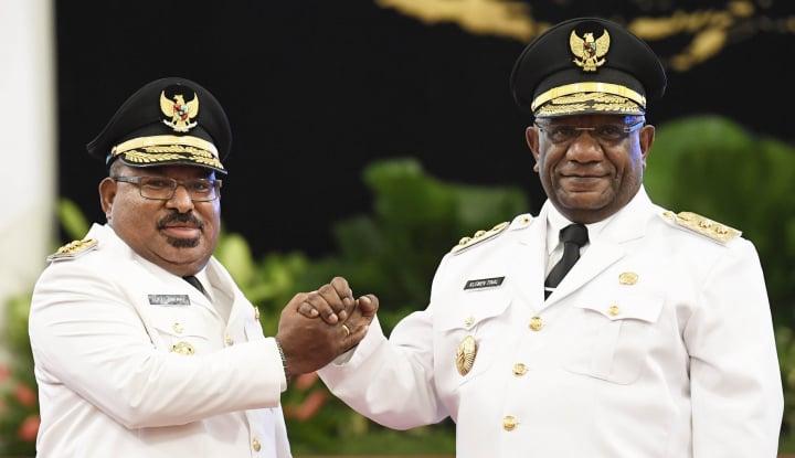 Ada Desain Penangkapan Gubernur Papua? - Warta Ekonomi