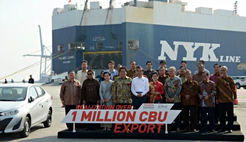 Ekspor Otomotif Indonesia Cetak Rekor Manis Sepanjang Sejarah