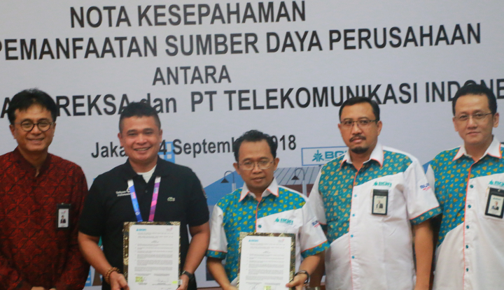 Foto Berita BGR Gandeng Telkom Kembangkan Teknologi Informasi