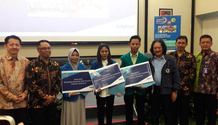Indofood Kucurkan Dana Penelitian untuk 58 Mahasiswa - Warta Ekonomi