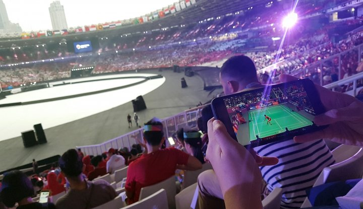 Foto Berita Asian Games 2018, Trafik Data Telkomsel Naik 140 Kali Lipat