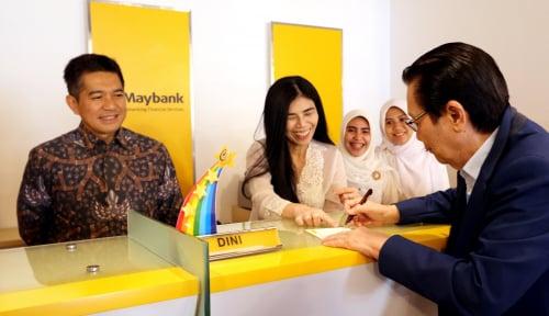 Foto Laba 2019 Melejit, Maybank Bagi-bagi Dividen RM7,19 Miliar