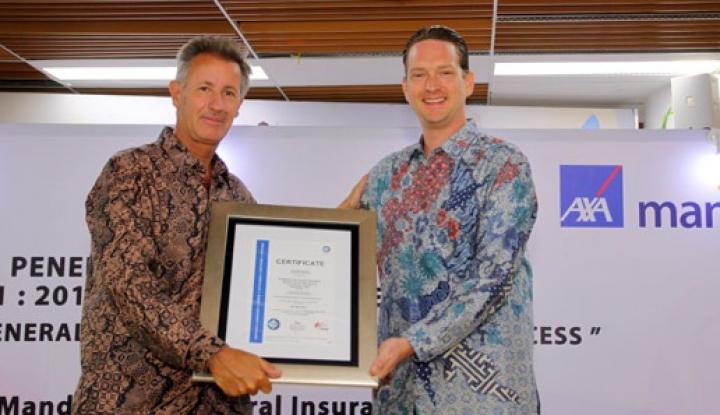 Foto Berita AXA Mandiri Peroleh ISO 9001:2015 untuk Prosedur Penanganan Klaim