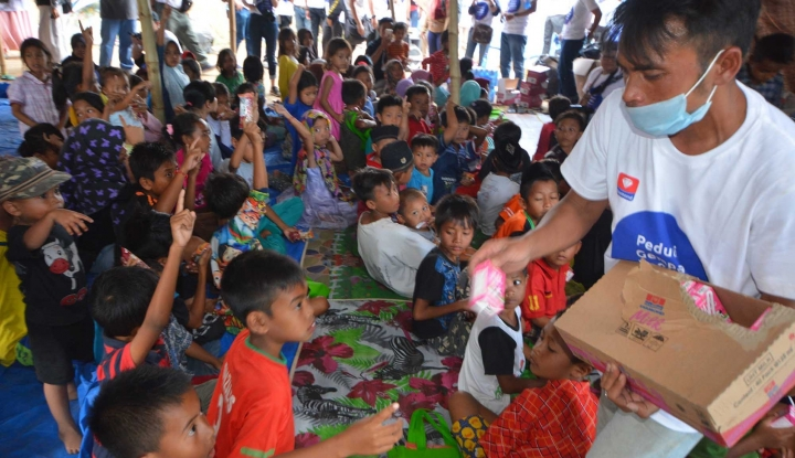 Foto Berita Puluhan Anak Dilaporkan Hilang saat Bencana Sulteng