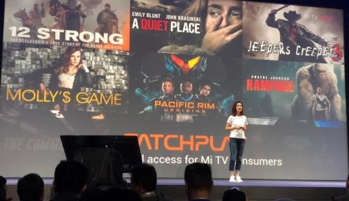Foto Jadi Mitra Resmi Xiaomi Mi TV, CATCHPLAY Hadirkan Film Blockbuster Terbaru