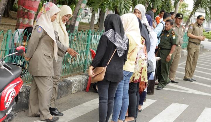 Foto Berita 40 Pria dan Wanita di Banda Aceh Terjaring Razia, Penyebabnya 'Mencengangkan'