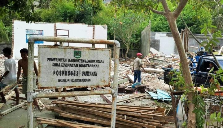 Foto Berita Keadaan Lombok Belum Pulih, PWNU Bangun Masjid Darurat