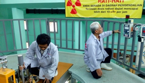Reaktor Pertama Indonesia Beroperasi Baik di Usia 54 Tahun