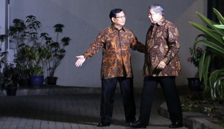 Foto Berita Prabowo CS Masih Santai Meski ada
