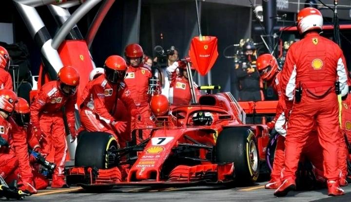 Foto Berita Siapakah Pengganti Raikkonen di Ferrari?