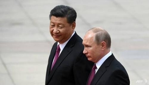 Foto Putin dan Jinping Luncurkan Proyek Pipa Gas Bulan Depan