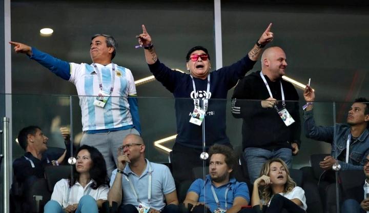 Foto Berita Maradona: Saya Baik-baik Saja