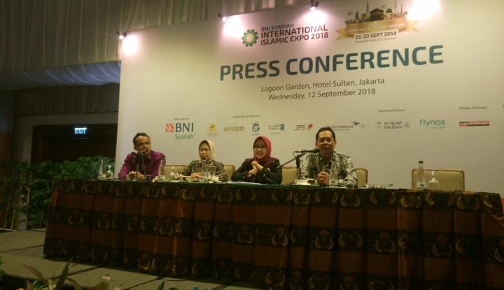 Foto Berita BNI Syariah Kampanyekan Indonesia Berhaji di IIE 2018