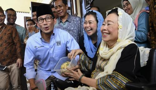 Foto Susahnya Koalisi Prabowo-Sandi Masukan Putri Gus Dur ke Tim Pemenangan