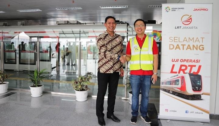 Foto Berita LRT Jakarta Gandeng Star4Hire sebagai Penyedia SDM