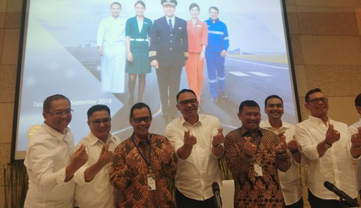 Foto Berita Ari Ashkara Resmi Jadi Dirut Garuda Indonesia