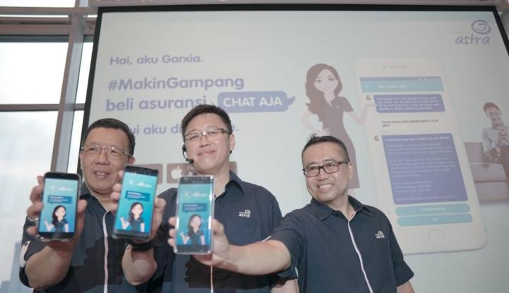 Foto Berita Asuransi Astra Perkenalkan Garxia, Virtual Assistant Pembelian Asuransi