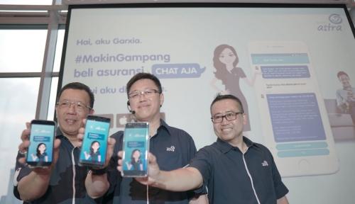 Foto Asuransi Astra Perkenalkan Garxia, Virtual Assistant Pembelian Asuransi