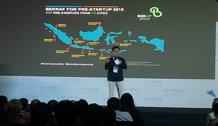 AMI Gandeng Bekraf dan Prudential untuk Kembangkan Startup - Warta Ekonomi