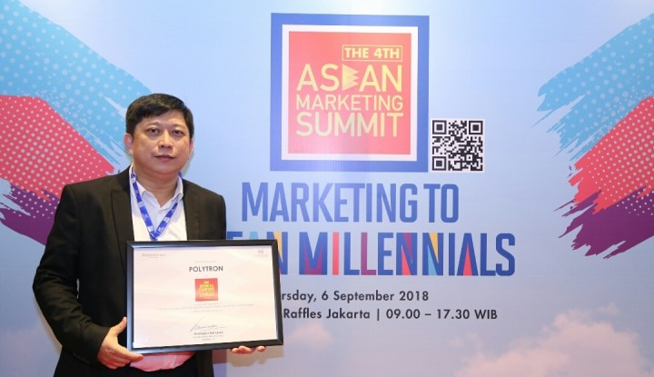 Polytron Masuk Kategori Hi-Tech Sector di Asean Marketing Summit - Warta Ekonomi