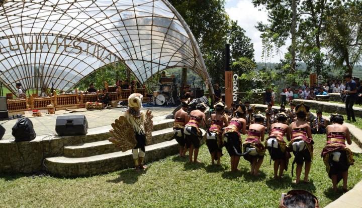 Foto Berita Festival Jatiluwih, Kolaborasi Seni Budaya Tradisional dan Modern di Harta Karun Warisan Dunia